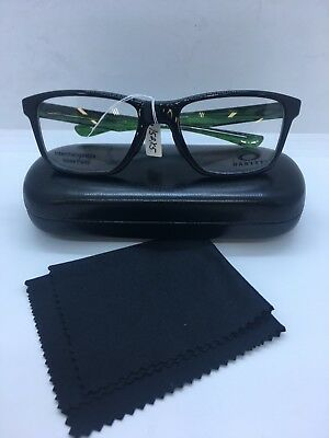 384593aadeaf Oakley Trim Plane Black Eyeglasses OX8107-02 Demo Lens 53 18 135-Brand New
