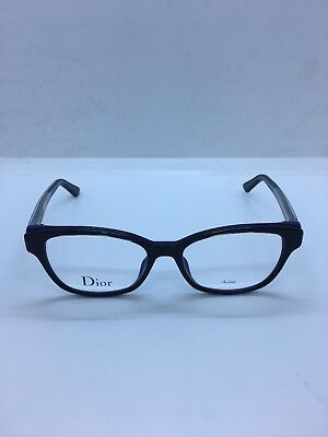 ba75bd5e61f2 Christian Dior Eyeglasses MONTAIGNE 1 01 G9Z 52mm 17mm 140mm New Authentic