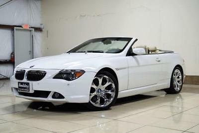 2007 6-Series 650i 2007 BMW 6 Series 650i CONVERTIBLE NAVGATION SUPER CLEAN MUST SEE