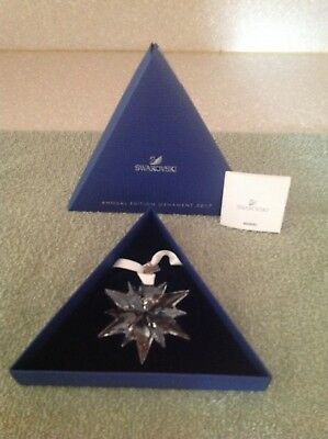SWAROVSKI 2017 Large Annual Edition Crystal Star Ornament #5257589 BRAND NEW