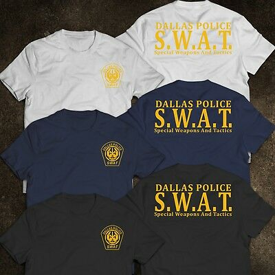 NEW SWAT DALLAS Police Department Special Tactics United States T-Shirt  S-3XL