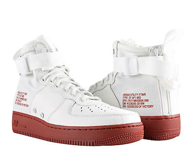 Nike SF AF1 Air Force 1 Special Forces Ivory/Mars Stone Men's Shoes 917753-100