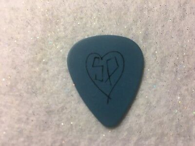 GUITAR PICK   Nicole - Smashing Pumpkins tour issue blue guitar pick   No Lot