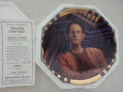 Security Chief Odo Star Trek Ds9 Hamilton Plate Collection 1994