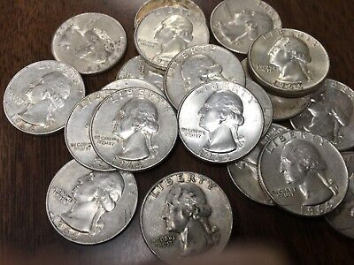 Nice *Low Priced* Silver Coin 1964-D VF or Higher Silver Washington Quarter