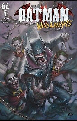 Batman Who Laughs #1 Parrillo Trade Variant NM PRESELL 12/12 Release Hot Cover