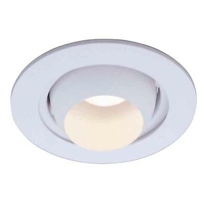 4 Inch Recessed Can Light Adjustable Eyeball Trim White Ceiling Lighting Fixture