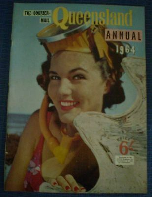 Vintage THE COURIER MAIL QUEENSLAND ANNUAL 1964 MAGAZINE