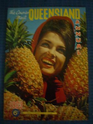 Vintage THE COURIER MAIL QUEENSLAND ANNUAL 1963 MAGAZINE