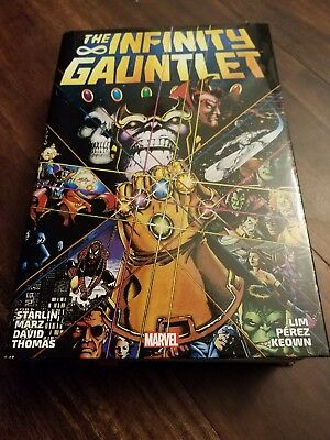 The infinity gauntlet omnibus mint read one time carefully