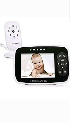 Home Video Baby Monitor Camera Monitoring System UBBCARE Night Vision Camera ...