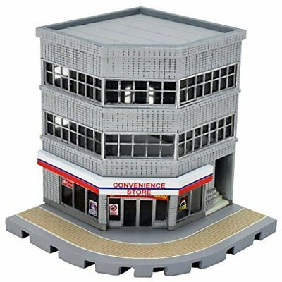 TOMYTEC N-scale Building 133 Corner Commercial Building A 1/150 Japan new .