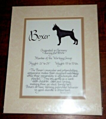 Pen Craft Calligraphy Design - Boxer – Matted