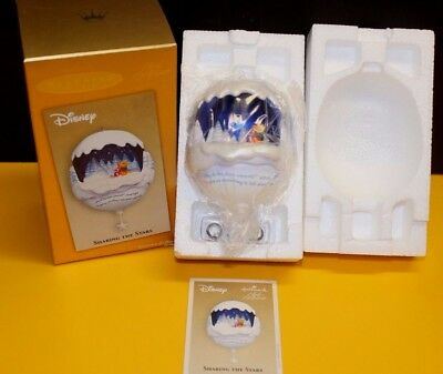 "Hallmark Disney Winnie the Pooh ""Sharing the Stars"" Lighted Christmas Ornament"