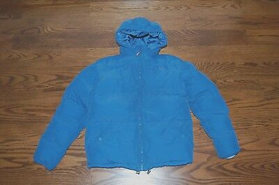 Lacoste Coat with Hood Sz 14 Boys Winter Warm