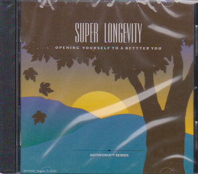 SUPER LONGEVITY Subliminal CD with Holosync & Autofonix - Centerpointe Research