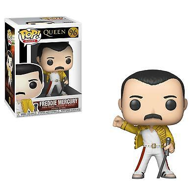 PRE-ORDER Funko Pop Rocks: Queen - Freddy Mercury Wembley 1986 #96