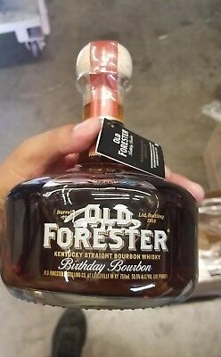 Old forester bourbon Birthday