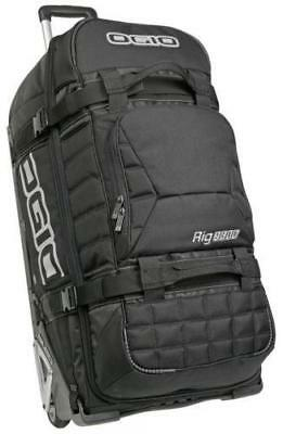 NEW Ogio Rig 9800 Wheeled Gear Bag Black from Moto Heaven
