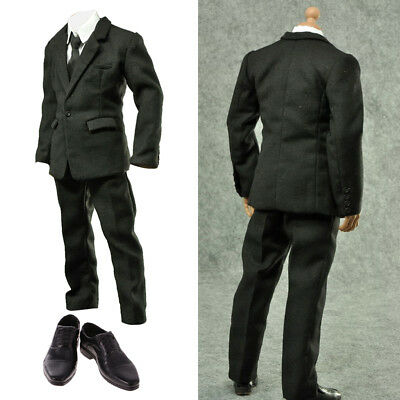 1/6 Action Figure Suit Outfit Clothing Shoes For Hot Toys Sideshow Enterbay