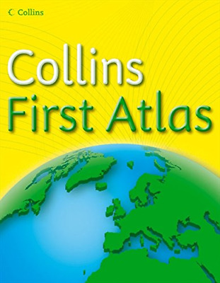 Collins First Atlas (Collins Primary Atlases), Collins Maps, Good Condition Book