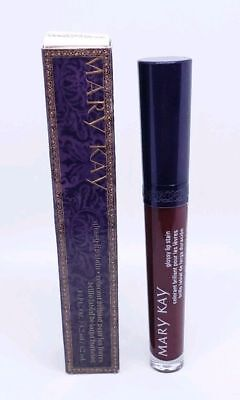 Mary Kay Glossy Lip Stain MULBERRY FOREST NEW IN BOX  FULL SIZE .14FL. OZ.