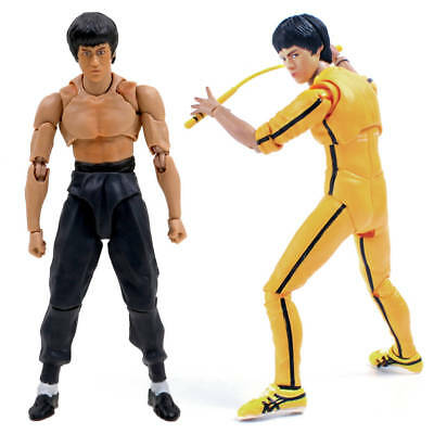 14cm SHF Kung Fu Bruce Lee S.H.Figuarts Movable Action Figure PVC Toys Gifts