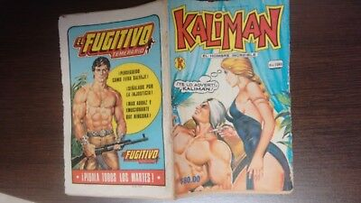 Kaliman Free Shipment Comic In Spanish Vintage  , Very Hard To Find , Num 1085