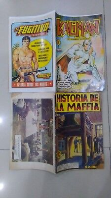 Kaliman Free Shipment Comic In Spanish Vintage  , Very Hard To Find , Num 1080