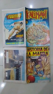 Kaliman Free Shipment Comic In Spanish Vintage  , Very Hard To Find , Num 1099