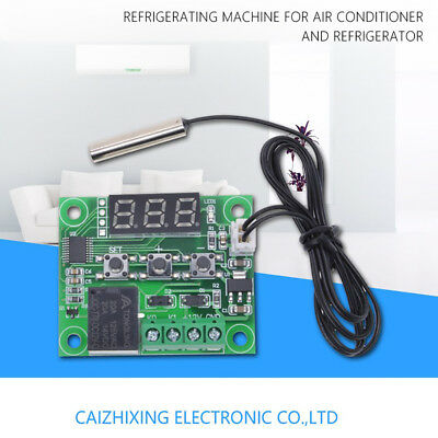 DC 12V Digital Heat Cool Thermostat Temperature Control Switch Relay -50-110 ℃