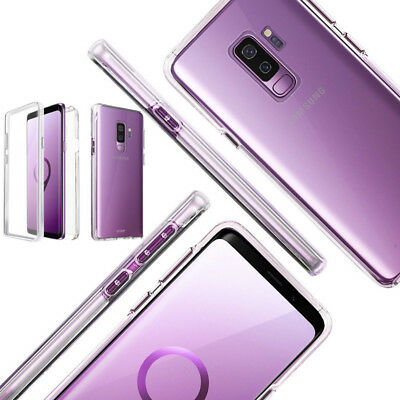 For Samsung Galaxy Note 9 S9 S8 A6 A8 2018 Full Case Built in Screen Protector
