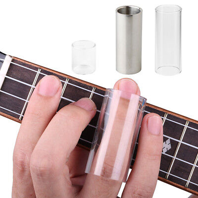 Clear Bright Sound Glass Guitar Bass Tone Bar Stainless Steel Slide Tone Bar