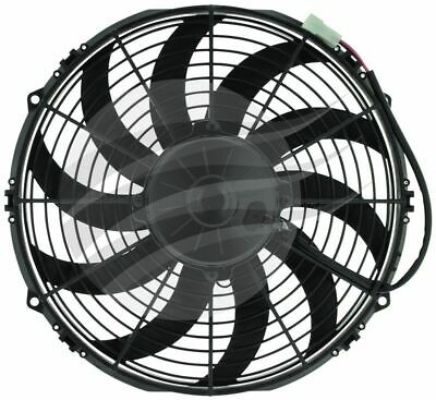 """SPAL THERMO FAN 12"""" (305mm) SKEW BLADE 12V PULLER  AIRFLOW 2430m3/h 13.5AMP"""