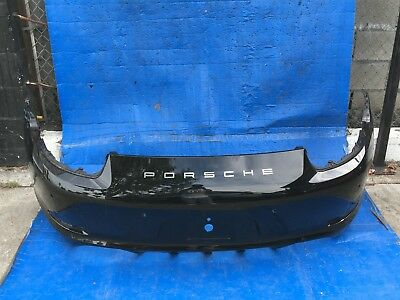 2012-2013-2014-2015 Porsche 911 Carrera Rear Bumper Cover Oem Used