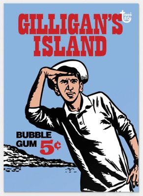 2018 Topps Wrapper Art #34 1965 Gilligan's Island Card 80th Anniversary PS
