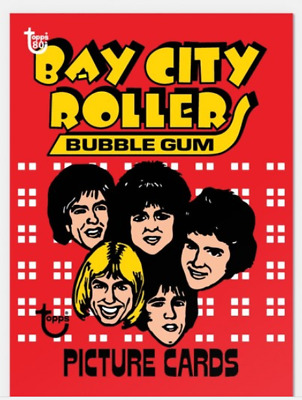 2018 Topps Wrapper Art #41 1975 Bay City Rollers Card Only from Set #14 PR-238