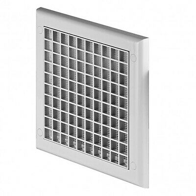 Square Air Vent Grille 190mm x 190mm with Fly Screen Ceiling / Wall Ventilation