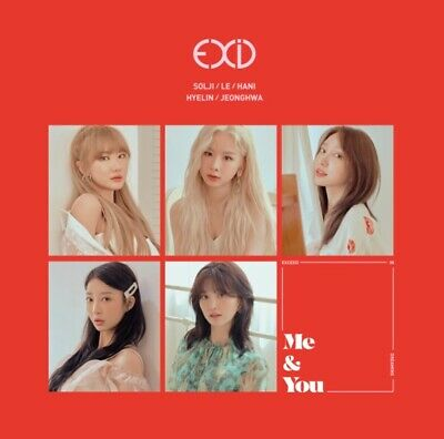 K-POP EXID Single Album [I LOVE YOU] CD + 35p Photobook + Photocard Sealed