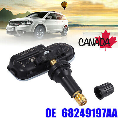 Tire Pressure Monitoring Sensor 434MHz OEM 68249197AA For Dodge RAM Jeep TPMS CA