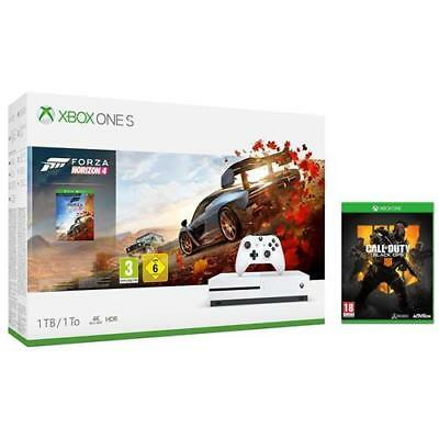 MICROSOFT Console Xbox One S 1 TB + Forza Horizon 4 + Call of Duty Black Ops 4 L