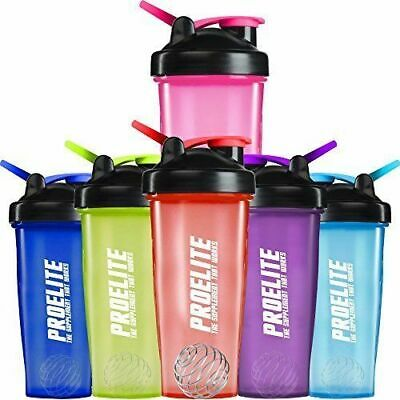 NEW Shaker Cup Water Bottle 600ml Whey Protein Mixer Smart Cyclone Tornado Ball