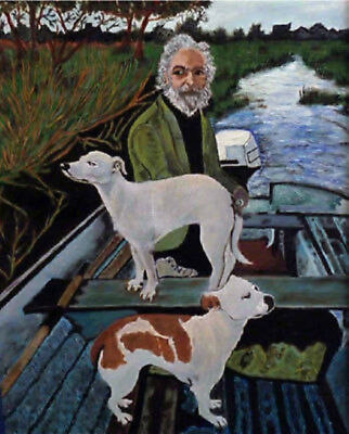 Hand-painted Portrait Oil Painting Repro on Canvas Goodfellas - More size