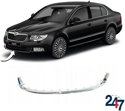 New Skoda Superb 2008 - 2013 Front Bumper Lower Center Grill Trim Cover