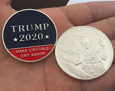 US President Donald Trump coin 2020 MAKE AMERICA GREAT AGAIN Souvenir Coins