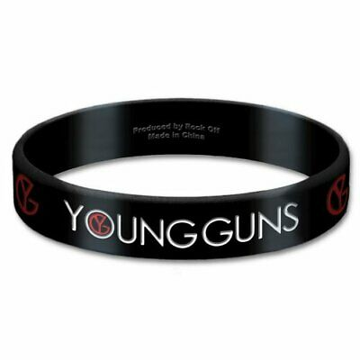 Young Guns Gummy Wristband: Logo