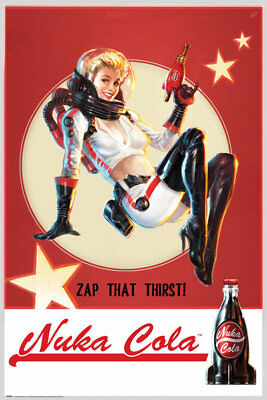 Fallout 4 Nuka Cola Gaming Maxi Poster Print 61x91.5cm | 24x36 inches