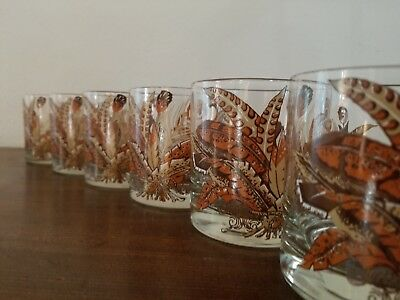 Georges Briard Low Ball Glasses