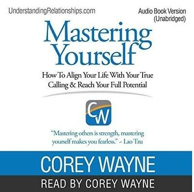 Mastering Yourself How to Align Your Life with Your...by Corey Wayne (audio book