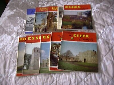 The essex countryside magazines x 9 issues